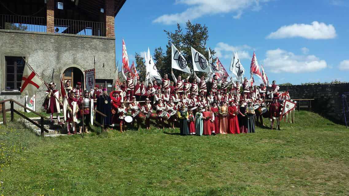 """Ludus balistaris"" – Crossbowmen Contest   Volterra"