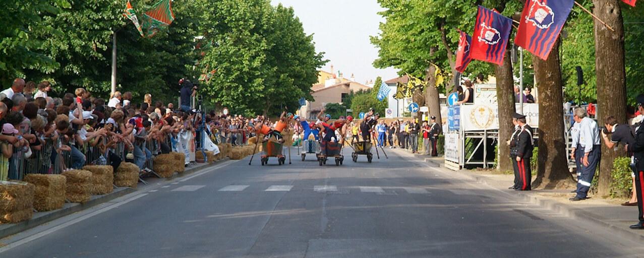 33° Palio dei barchini con le ruote | Castelfranco di Sotto
