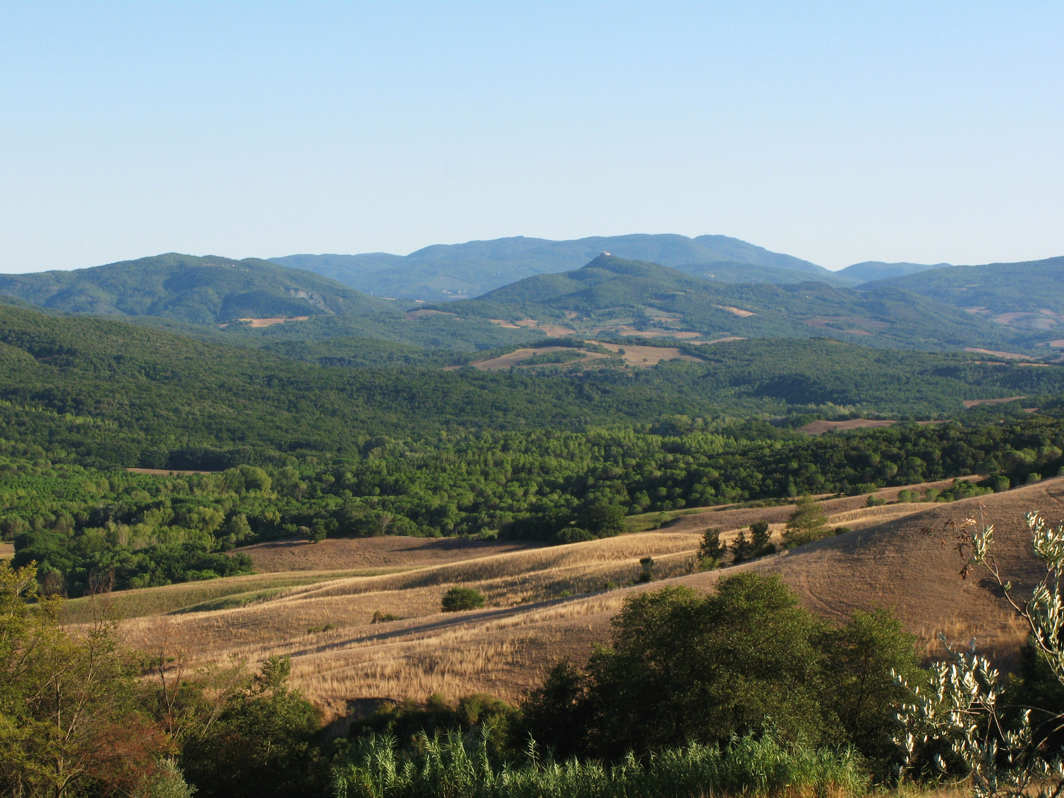 Escursioni nella riserva naturale di Monterufoli Caselli