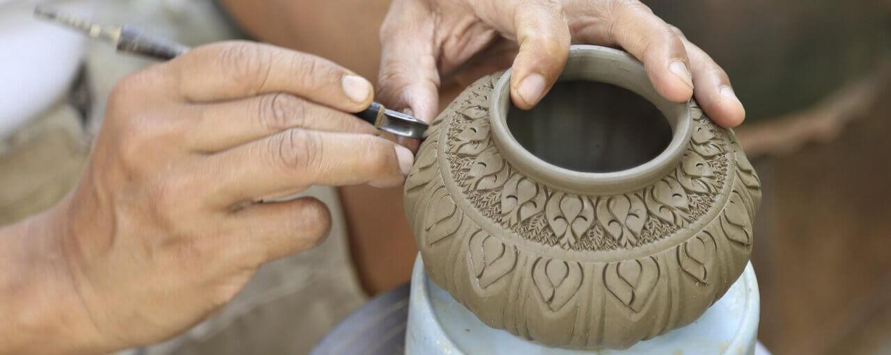 Sulle tracce della ceramica