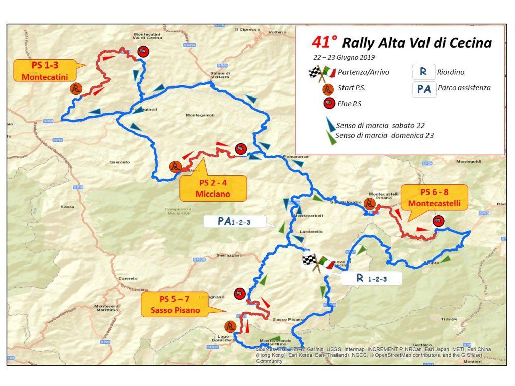 42° Rally Alta Val di Cecina