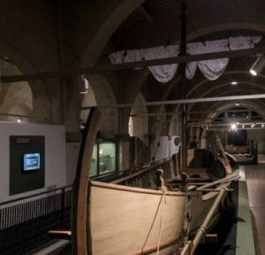 Ricostruzione navi antiche museo pisa