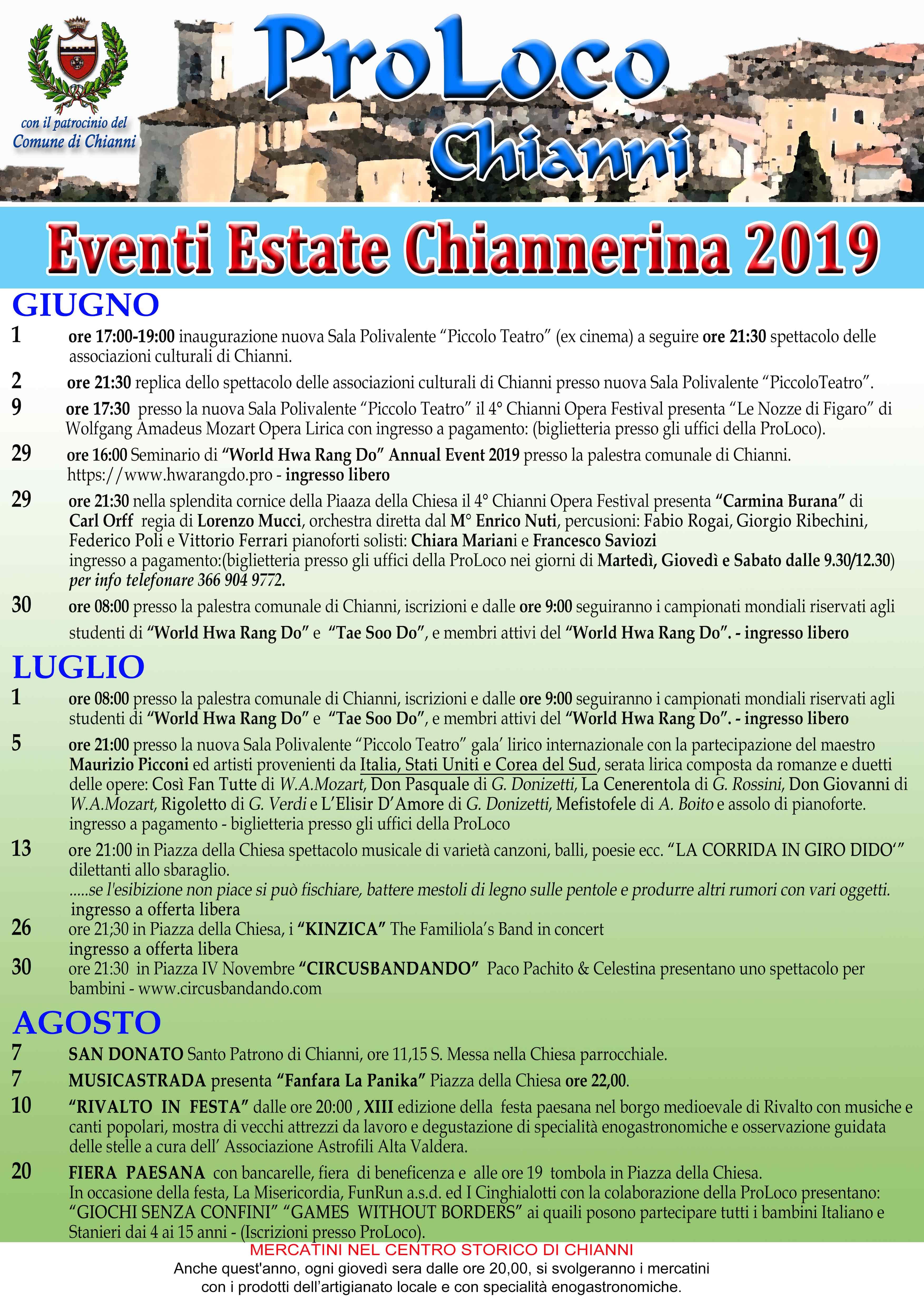Estate Chiannerina   Chianni