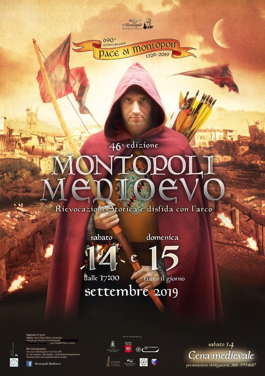 Montopoli Medioevo, 46° Disfida con l'arco   Montopoli in Val d'Arno