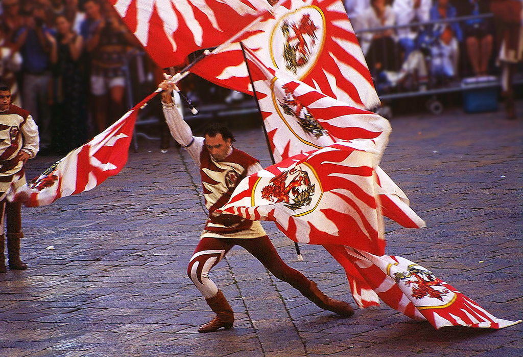 Astiludio, Flag Throwing Competition | Volterra