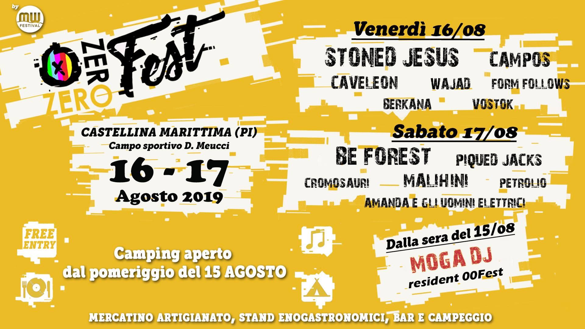 00 Fest – Musica W | Castellina Marittima