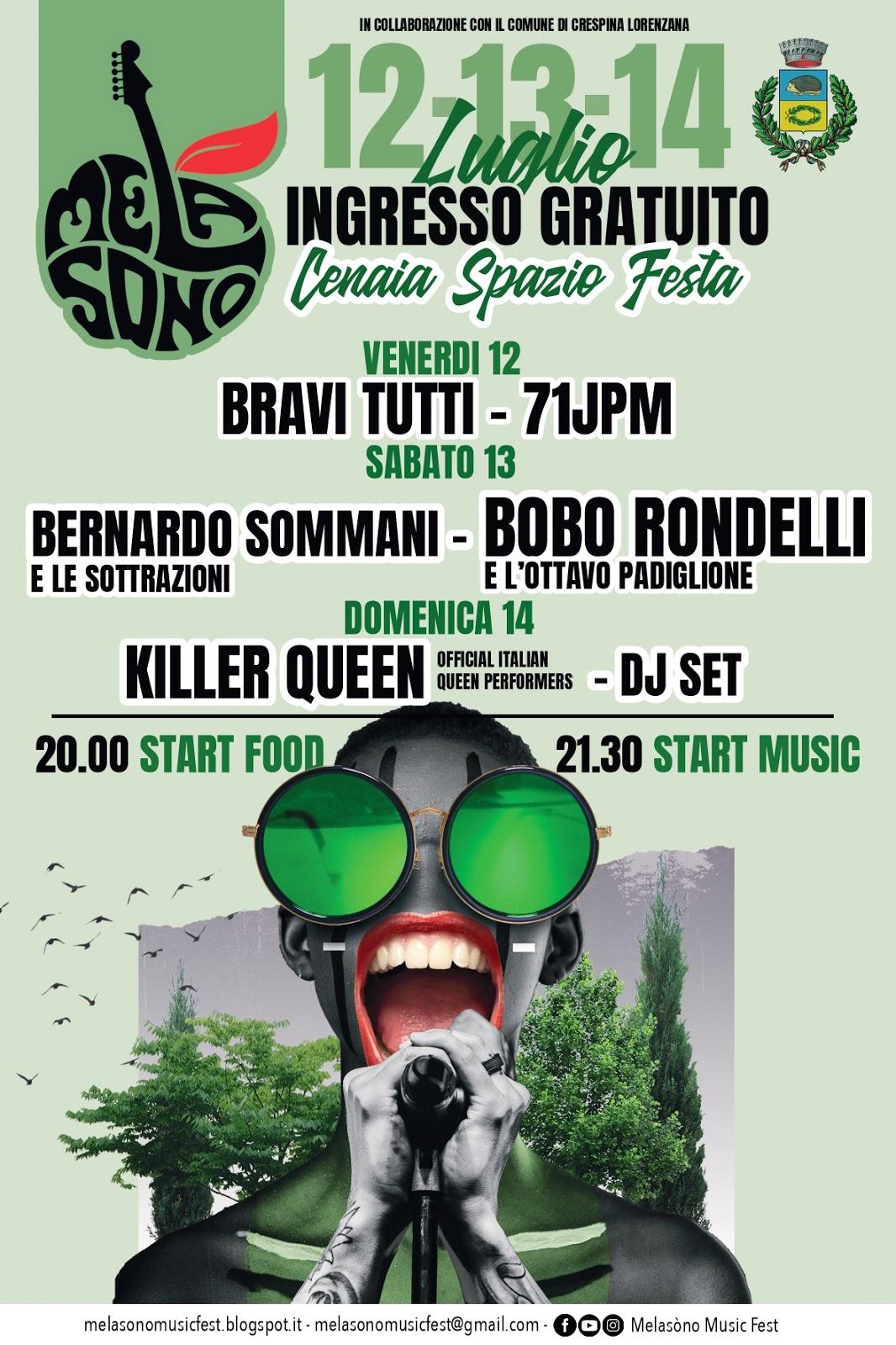 Melasòno Music Fest a Cenaia