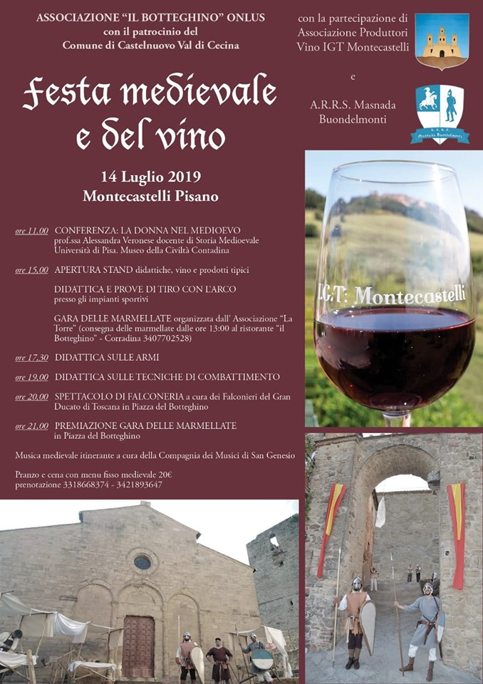 Festa medievale e del vino Montecastelli IGP