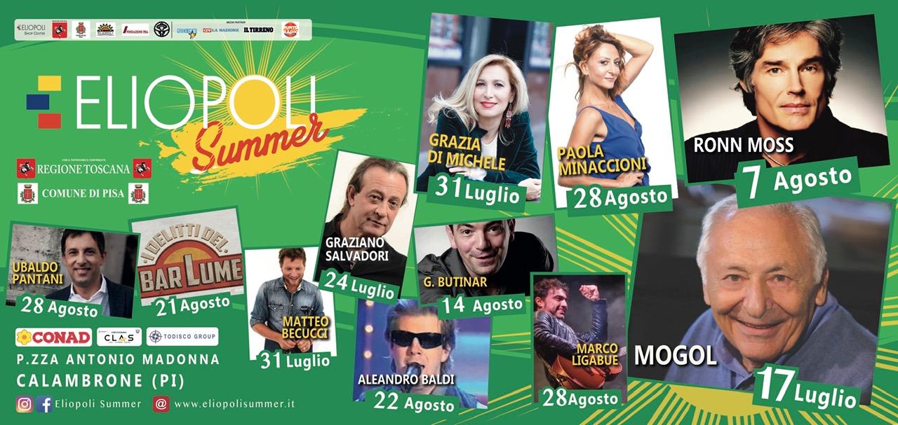 Eliopoli Summer, 5° edizione | Litorale pisano