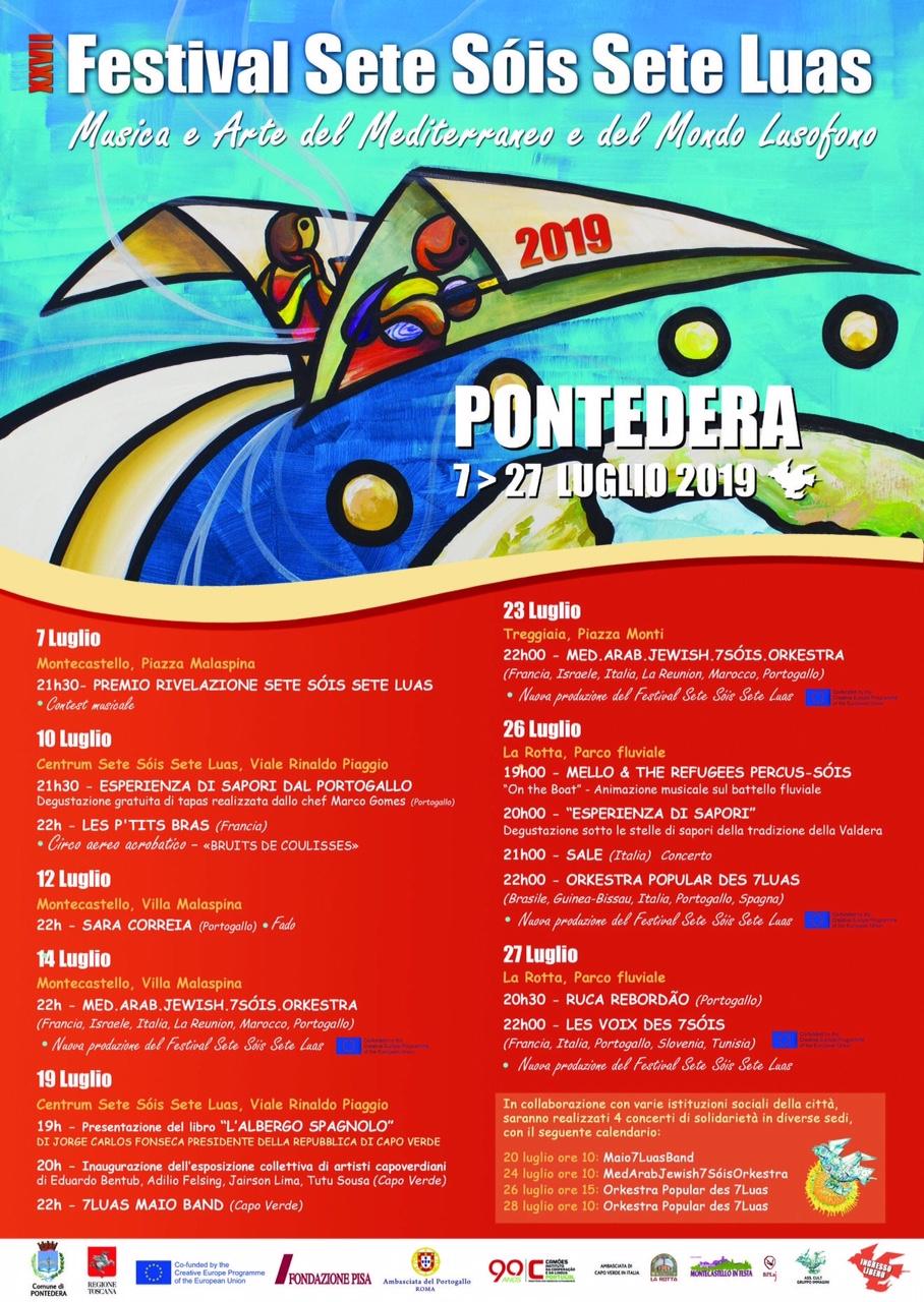 27° Festival Sete Sóis Sete Luas | Pontedera