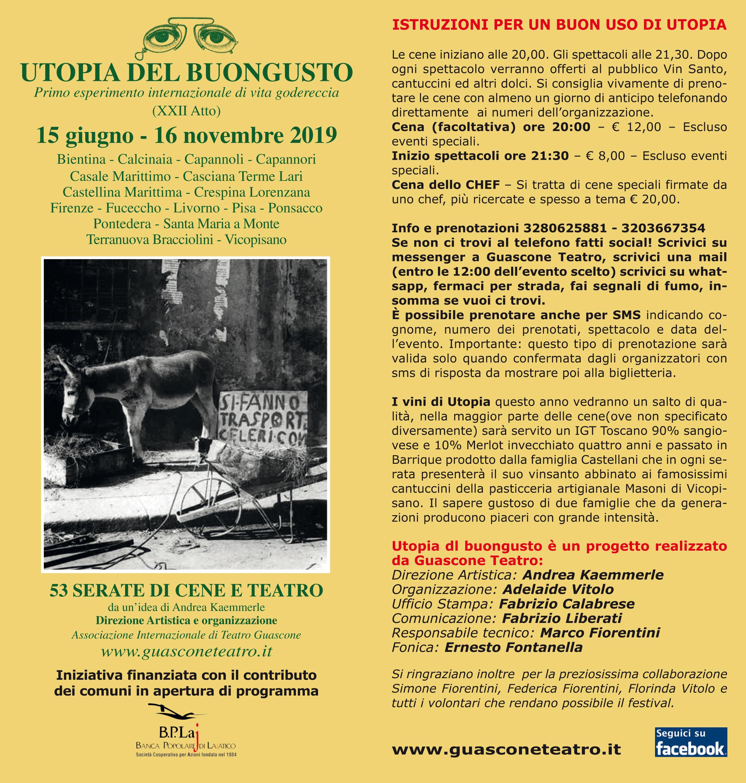 Utopia del Buongusto 21st edition