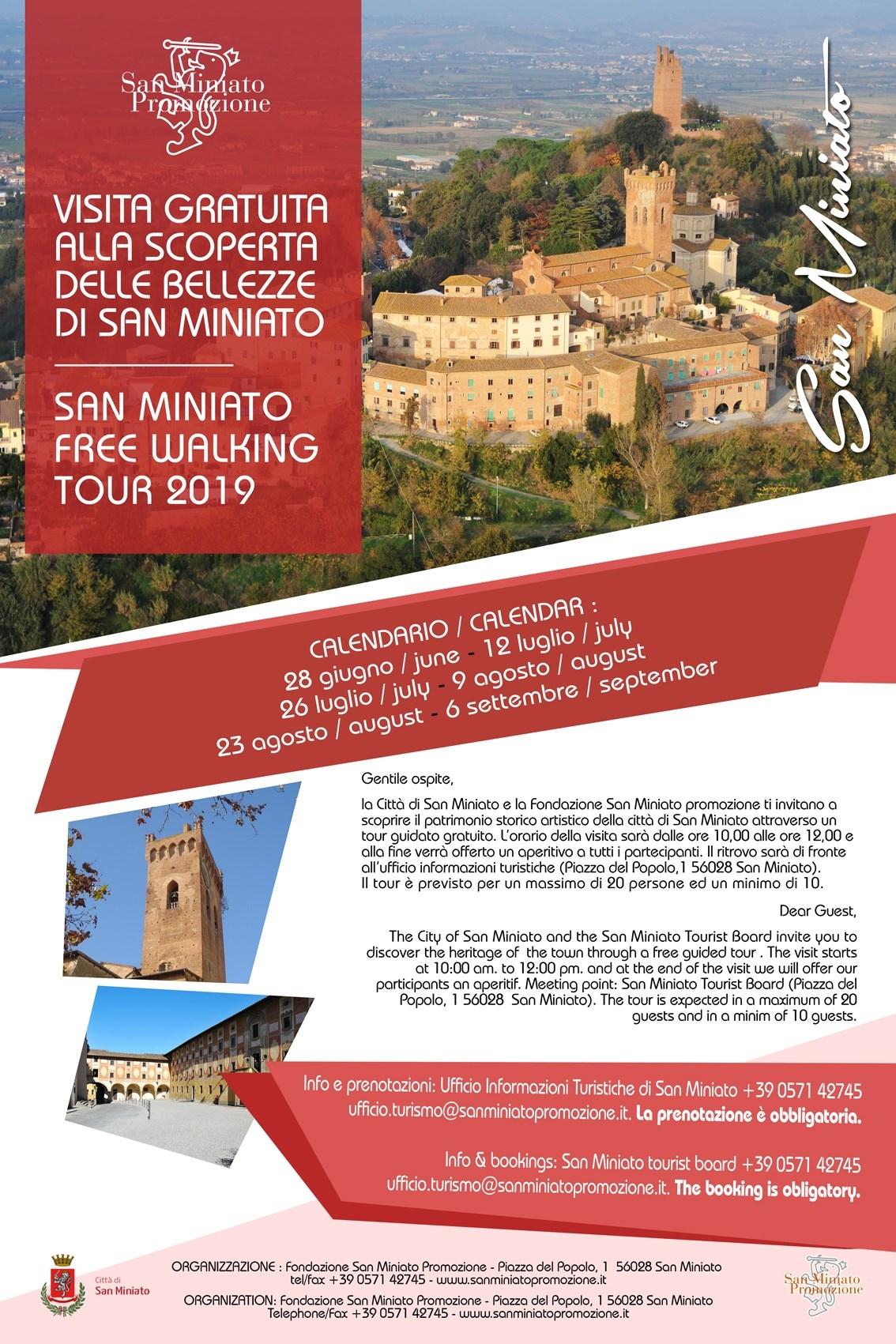 San Miniato Free Walking Tour – Passeggiata gratuita