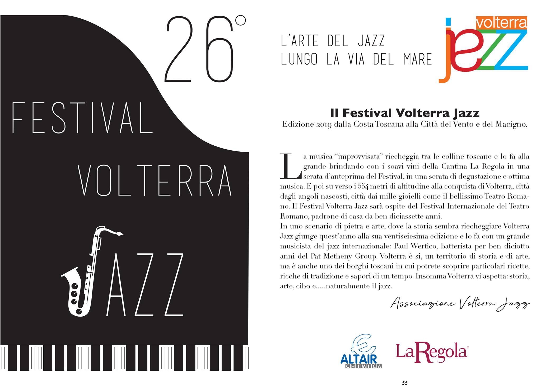 26° Volterra Jazz | Riparbella e Volterra