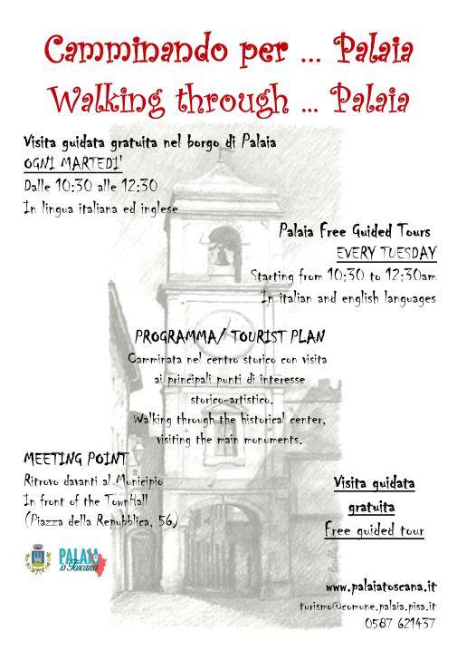 Free guided walking tour in Palaia