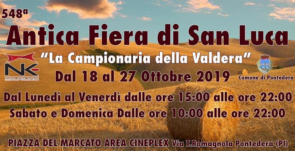 548th Expo San Luca . Valdera and Valdarno Fair | Pontedera