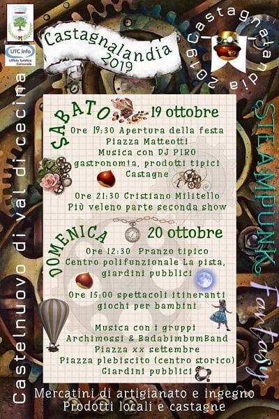 Castagnalandia, the Chestnut Festival | Castelnuovo Val di Cecina