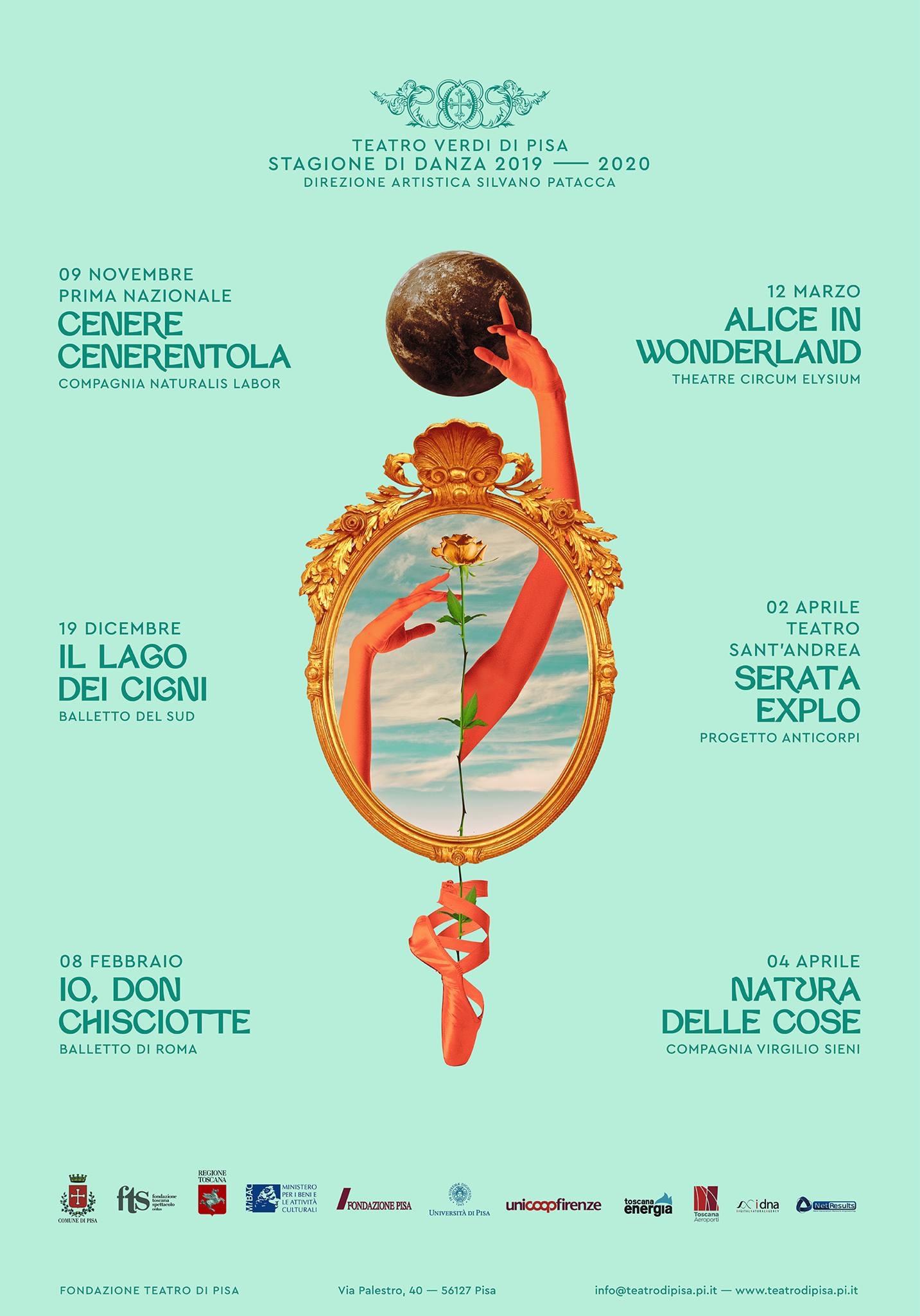 Teatro Verdi di Pisa: stagione di danza 2019-20