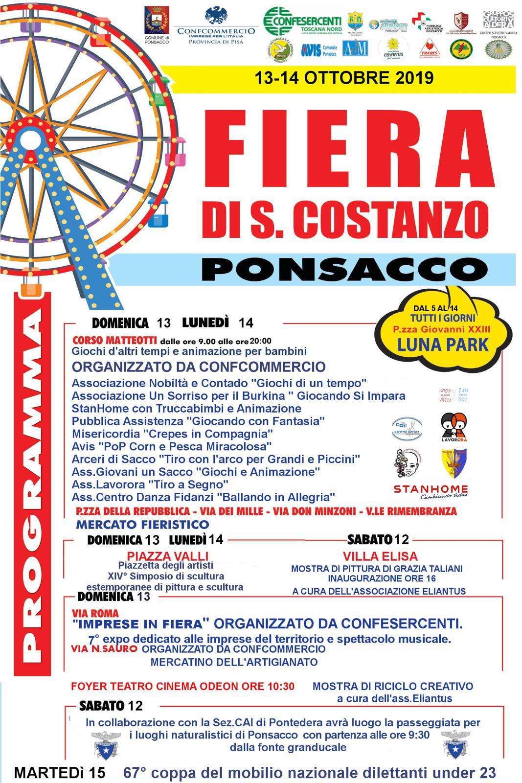 Fiera di San Costanzo | Ponsacco