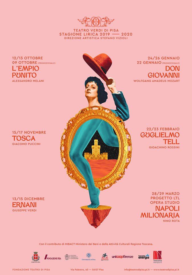 Teatro Verdi di Pisa: stagione opera lirica 2019-20