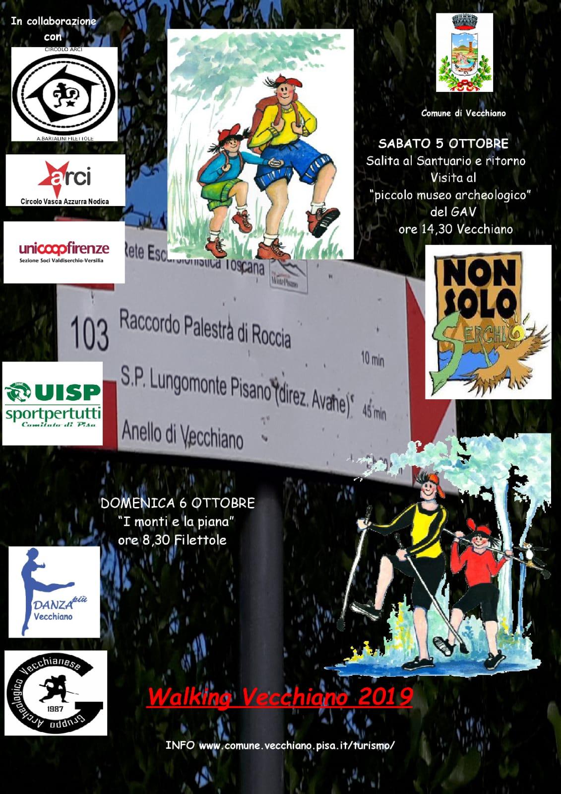 Walking Vecchiano, 4th edition