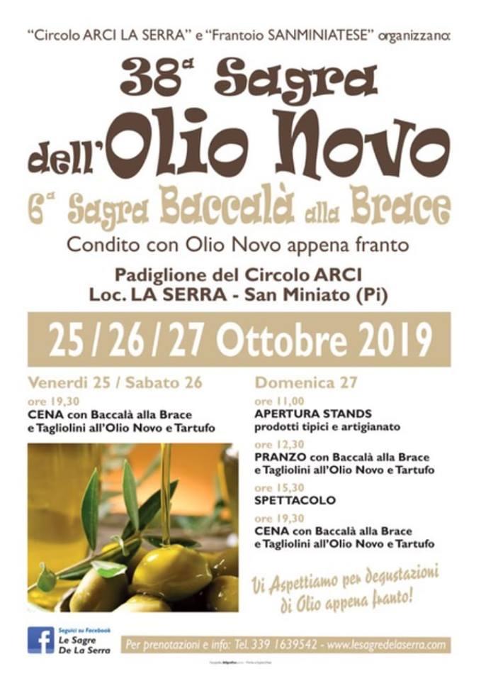 Sagra dell'olio novo e del baccalà | La Serra, San Miniato
