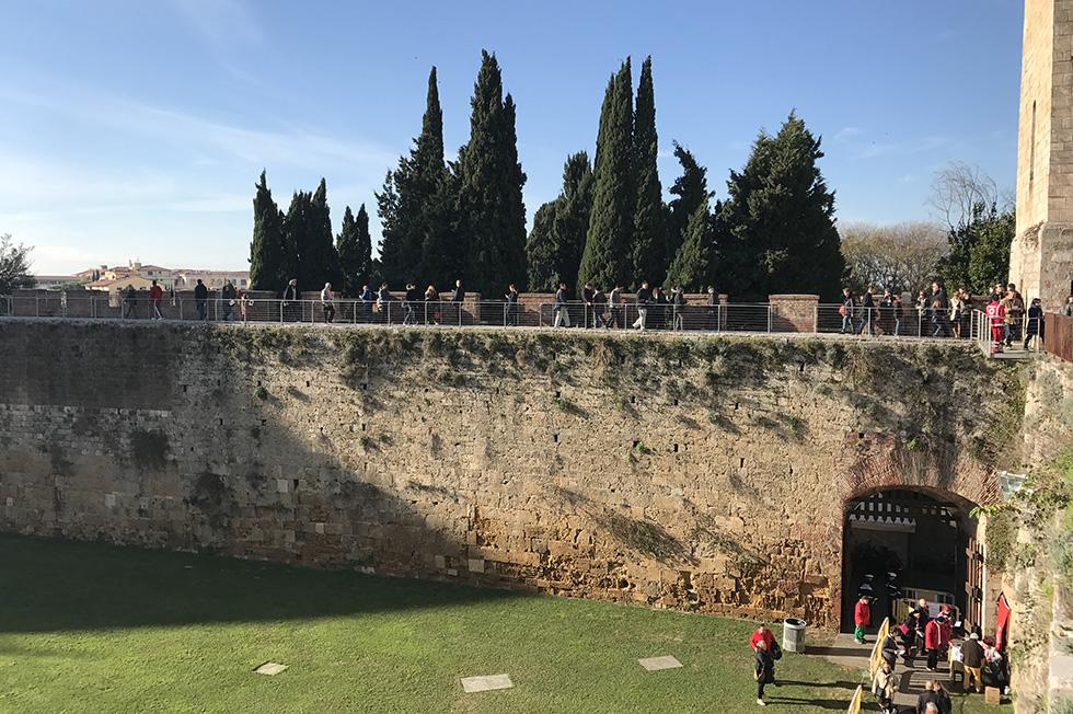 Luglio sulle Mura Antiche di Pisa