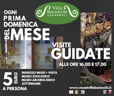 Sundays at the Museums of Villa Baciocchi  | Capannoli