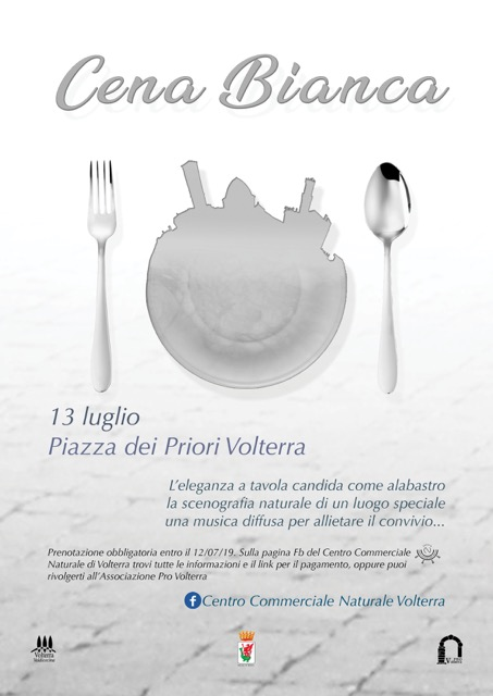 Cena bianca | Volterra