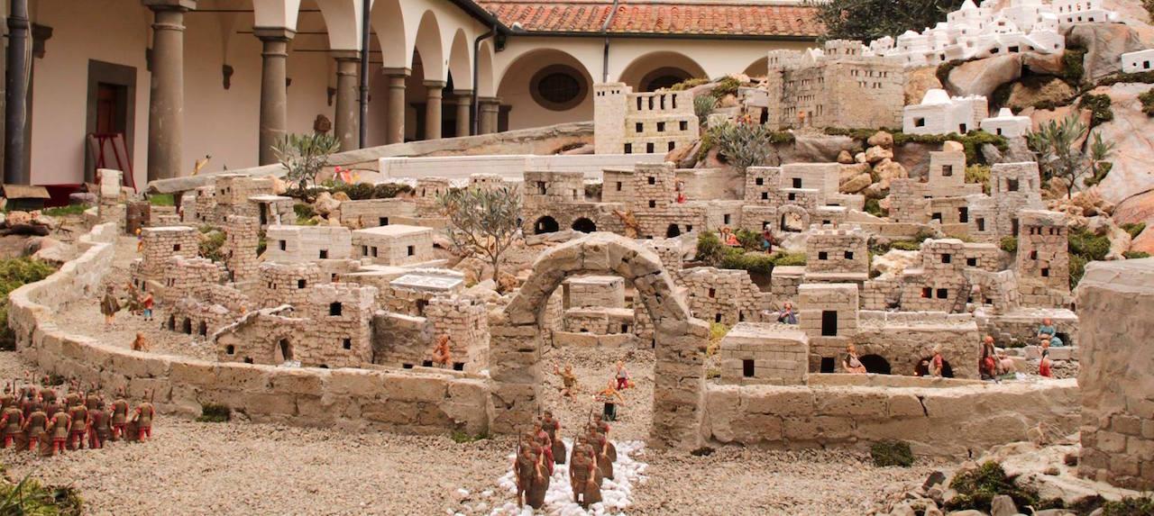 93rd Artistic Nativity Scene in San Romano | Montopoli in Val d'Arno