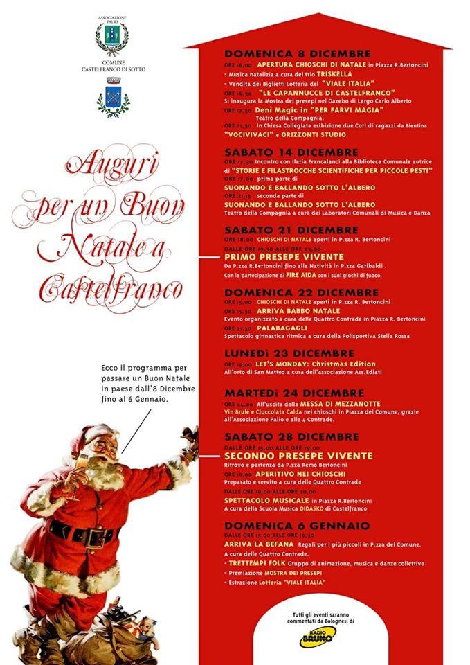 Mostra di presepi e 8° Presepe Vivente | Castelfranco di Sotto