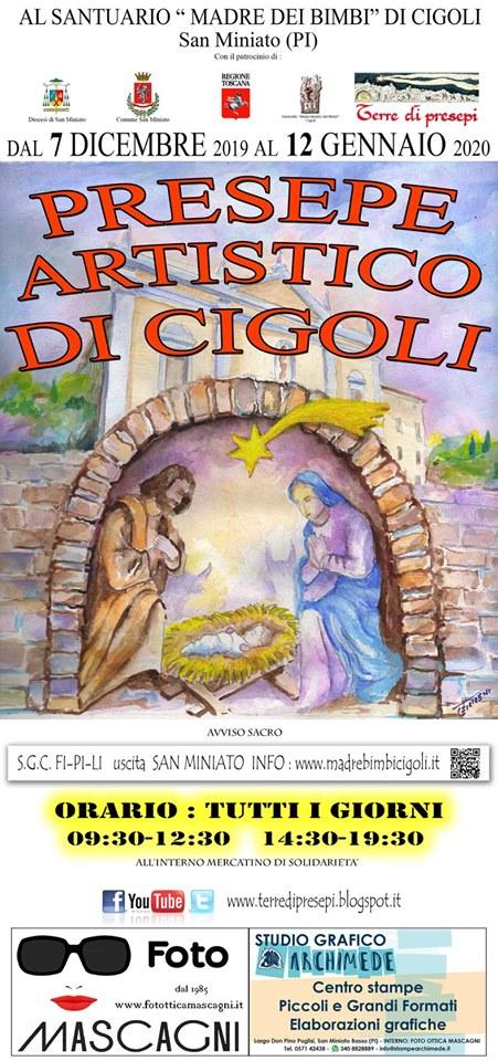 Presepe artistico di Cigoli, 19° edizione| San Miniato