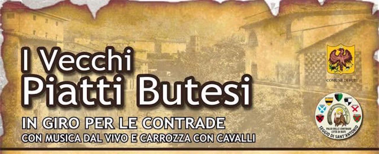 Cena itinerante: I vecchi piatti butesi   Buti