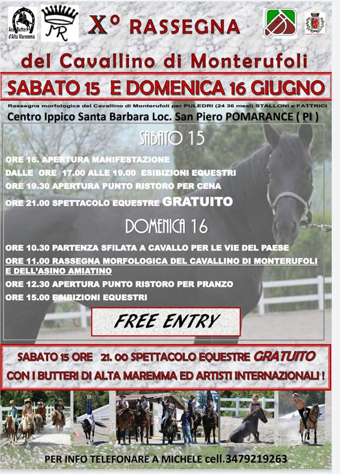 10° Rassegna del cavallino di Monterufoli