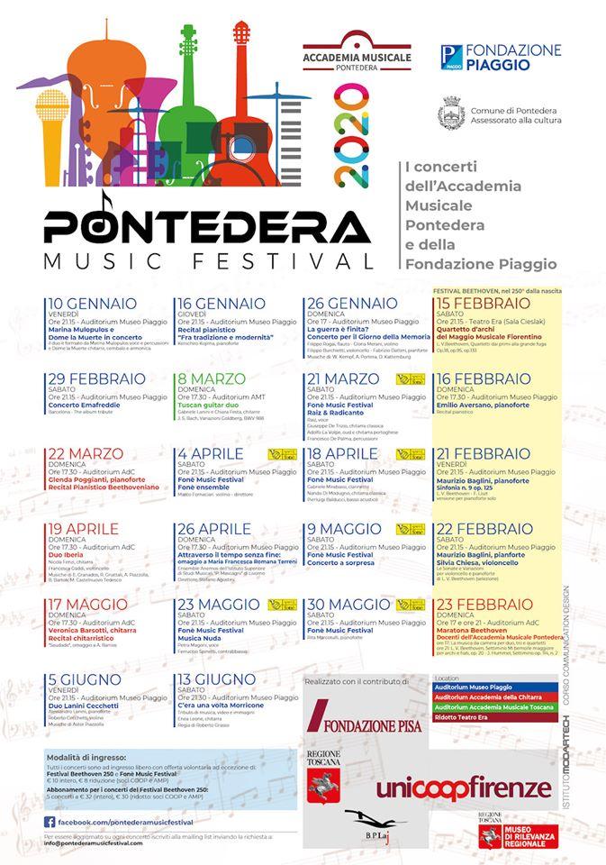 Pontedera Music Festival, 2° edizione | Pontedera