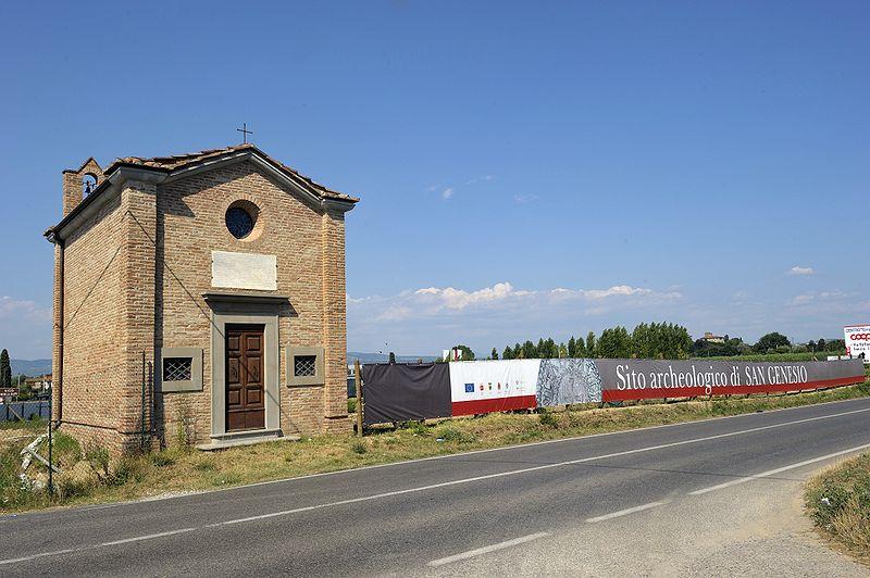 San Miniato | Archeologic Site of San Genesio