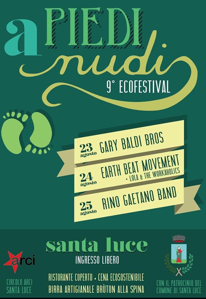 Ecofestival A piedi nudi, 10 edizione | Santa Luce