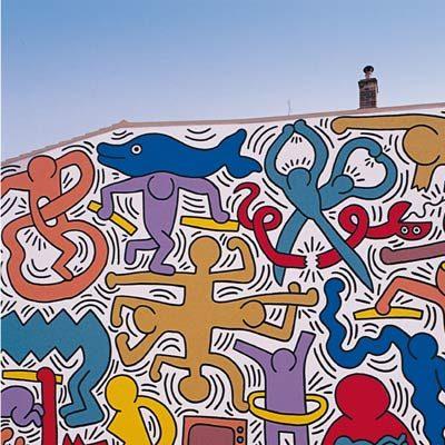 "Pisa | ""Tuttomondo 1989"" by Keith Haring"
