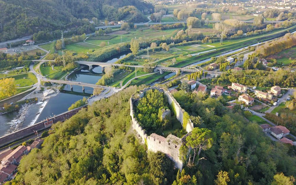 Le Terre di Pisa dall'alto: Monte Pisano e Valdarno