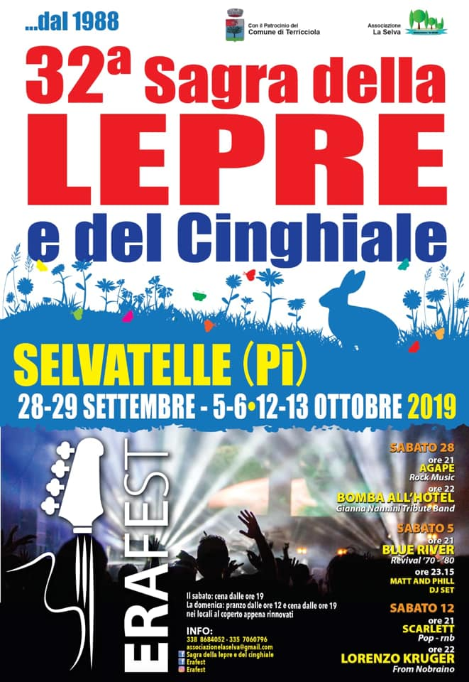 Hare and Wild Boar Fair, 32nd edition | Selvatelle, Terricciola