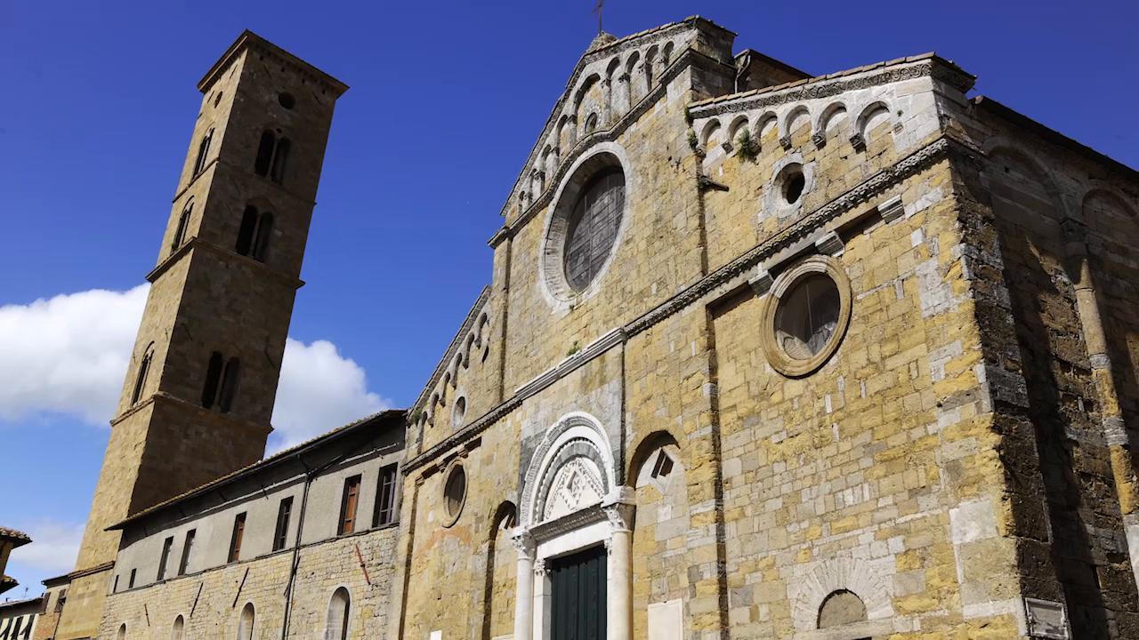 """Duomo, Battistero, ex Ospedale col pass """"Anima di Volterra"""""""