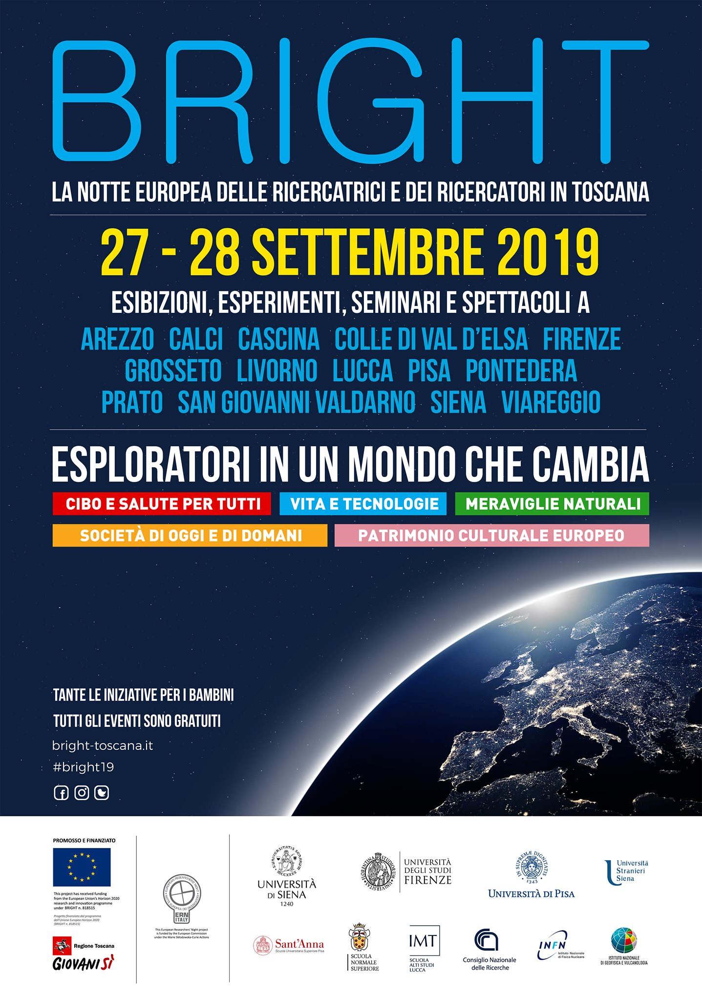 Bright: The Researchers' Night in Tuscany