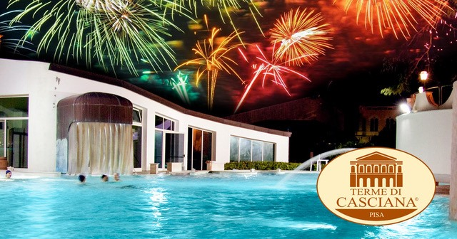New Year's Eve in Casciana Terme swimming pool