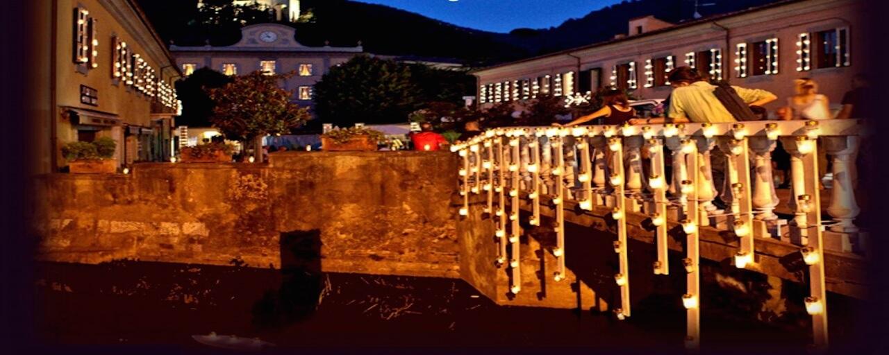 """Bagni di Luce"" – Lights show | San Giuliano Terme"