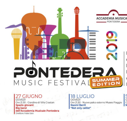 1° Pontedera Music Festival Estate / Summer Edition