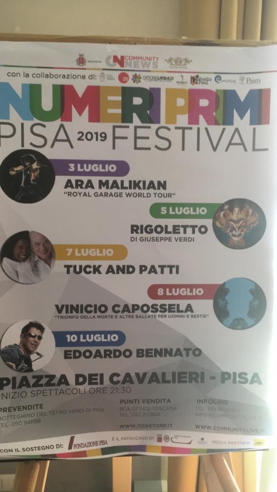 Festival Numeri Primi | Pisa