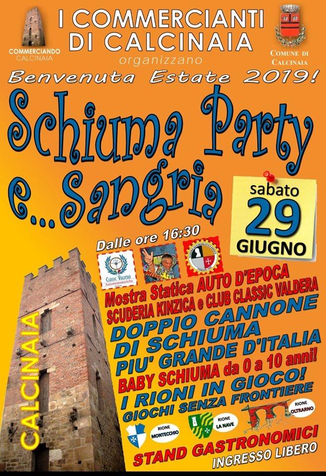 Schiuma party, 10° edizione – Calcinaia