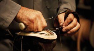 cuoio pelle scarpe artigianali calzolaio