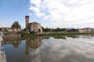 Pisa Cittadella torre guelfa