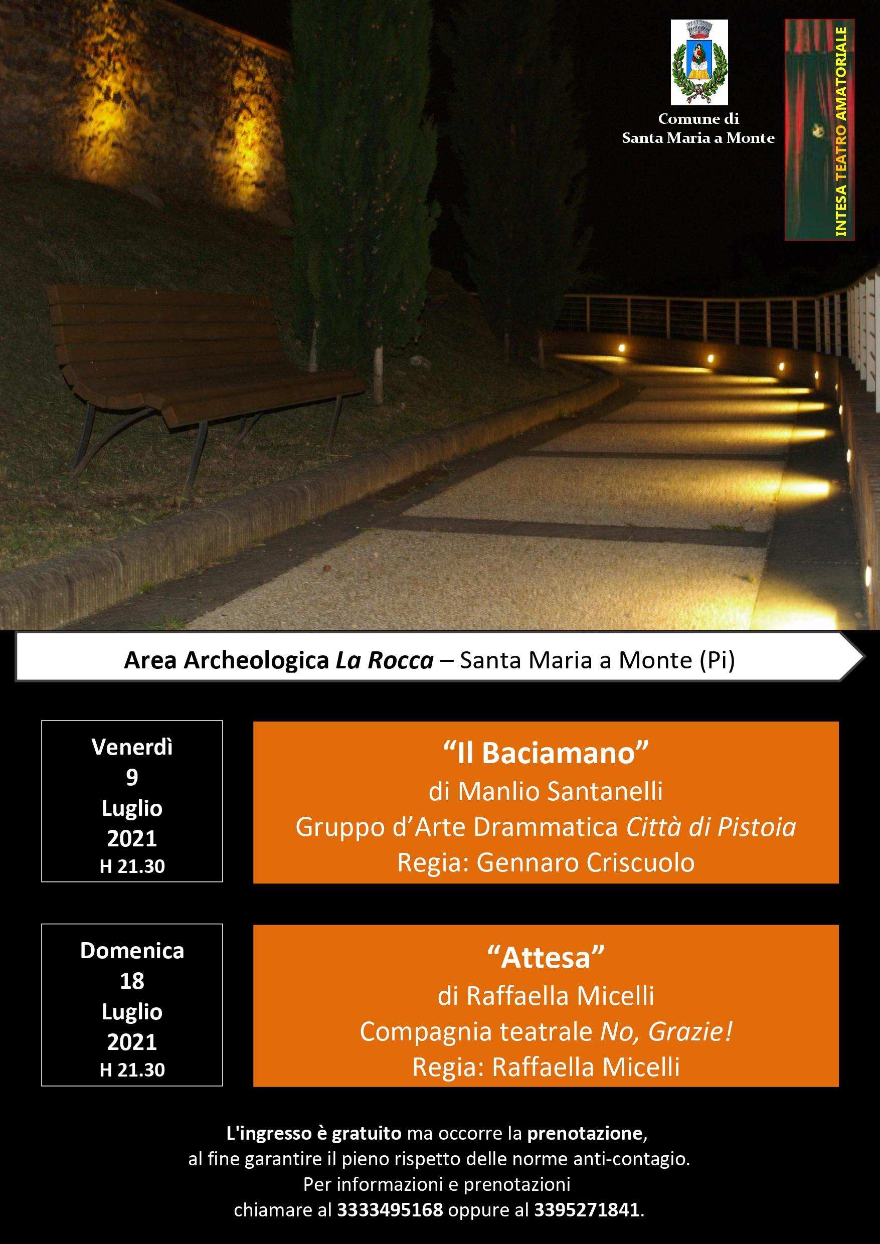 Teatro in Rocca | Santa Maria a Monte