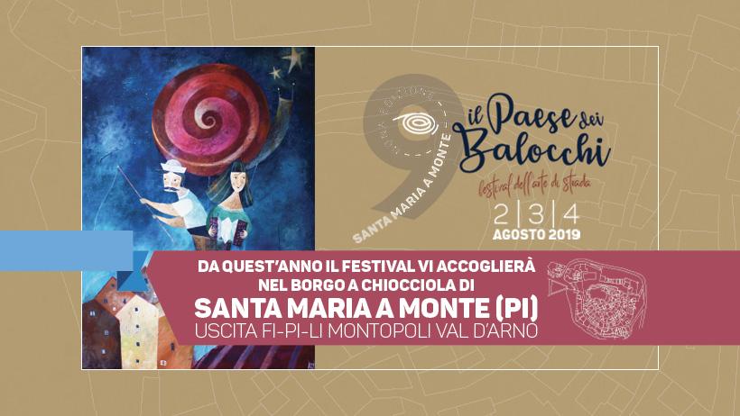 Il paese dei balocchi – Buskers Street Festival  | Santa Maria a Monte